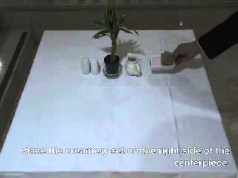 [Module 3 Lesson 5] Setting Up the Breakfast Table