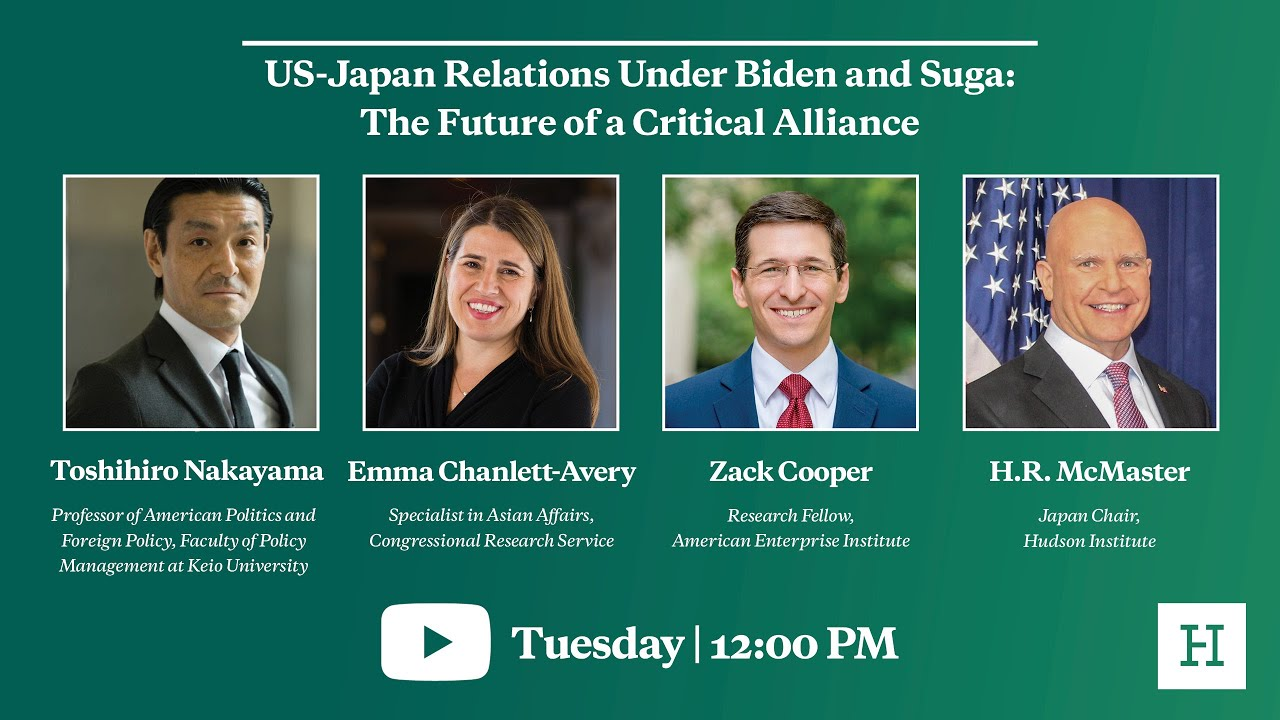 US-Japan Relations Under Biden and Suga: The Future of a Critical Alliance