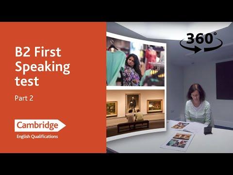 Cambridge Assessment English: B2 First, Part 2