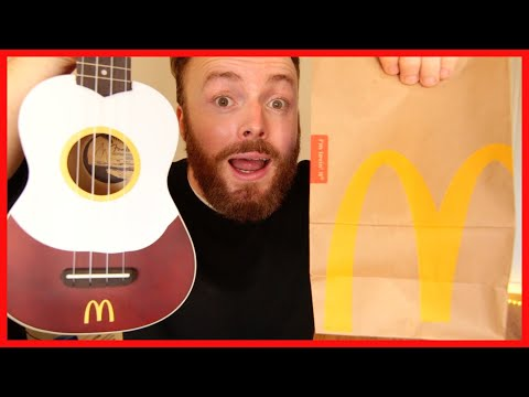 CHANCE TO WIN A MCDONALD'S UKULELE AND FREE BREAKFAST FOR A YEAR!