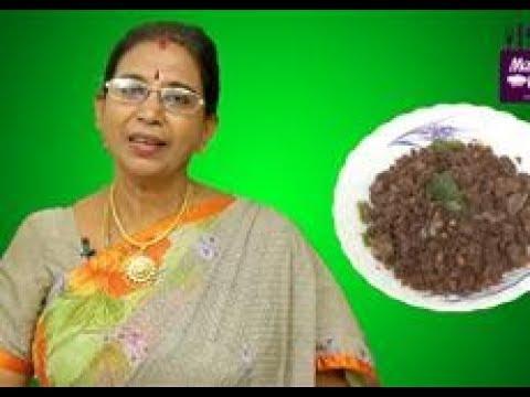 Ragi Upma in Tamil | Mallika Badrinath Recipes | Iron Rich Breakfast