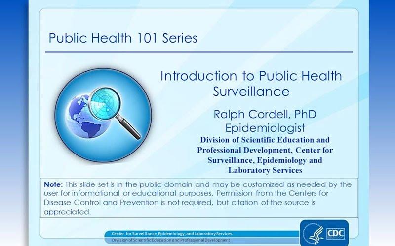 Introduction to Public Health Surveillance