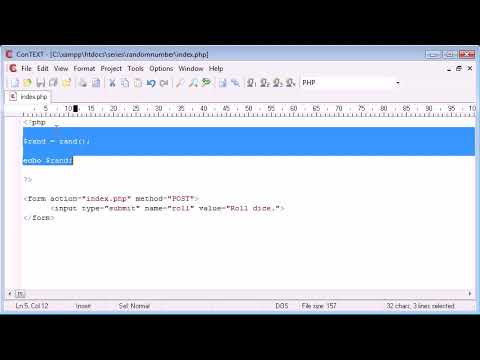 6 Month Project Training|Beginner PHP Tutorial   60   Random Number Generation