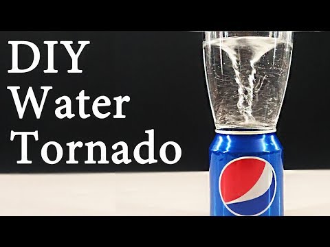 HOW TO MAKE A MACHINE FOR A WHIRLPOOL / Amazing Water Tornado DIY