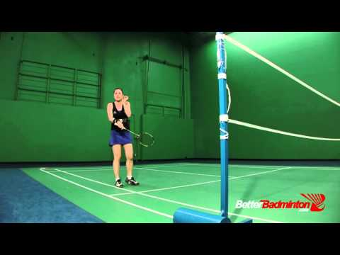 How to PERFECTLY Time Your Jump Smash -- Better Badminton