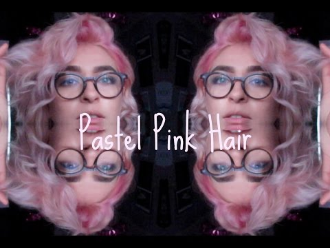 MANIC PANIC | PASTEL PINK HAIR HOW TO