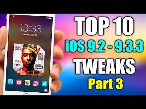 TOP 10 IOS 9.3.3 Jailbreak Cydia Tweaks  - Part 3