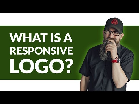 What is a responsive logo?