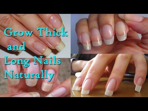 Grow Thick and Long Nails Naturally at Home