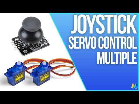 Arduino Tutorial - Servo Motor Control with Joystick