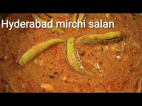 Mirchi ka salan recipe - Salan recipe - Hyderabad mirchi ka salan recipe
