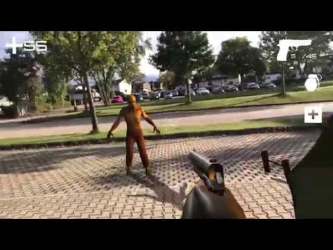 ARKIT & Unity, Tutorial - create an Augmented Reality first Person Shooter