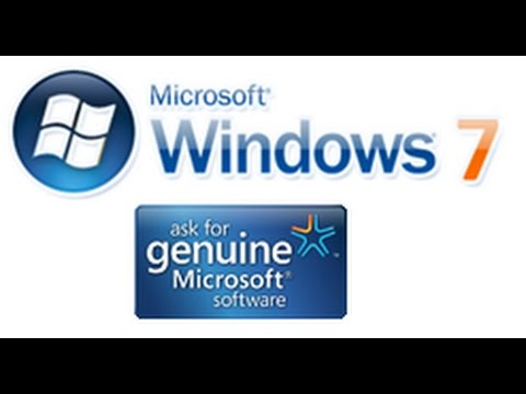 Get windows 7 genuine Permanently in one minute
