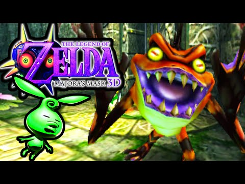 The Legend of Zelda Majora's Mask 3DS Gameplay Walkthrough Woodfall Temple Hero's Bow PART 7