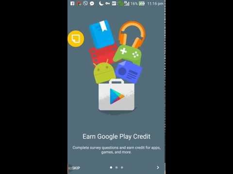 how to get free google play credits?