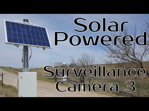 Solar Powered Surveillance Camera Project 3