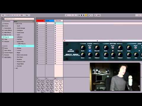 Dirty Bass Synth in Ableton Live 9 Suite (Using Free Plugins)
