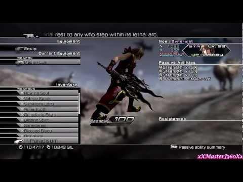 Final Fantasy XIII-2: Serah's & Noel's Final Weapons