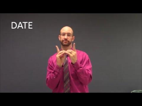 Relationships Vocabulary - ASL