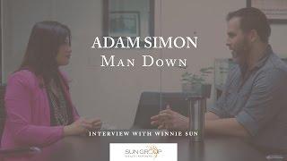 Adam Simon, screenwriter, actor - The Brilliant Man Down