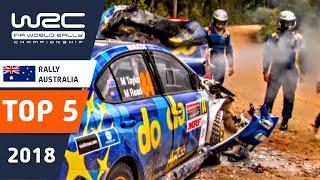 WRC - Rally Australia 2018: TOP 5 Moments