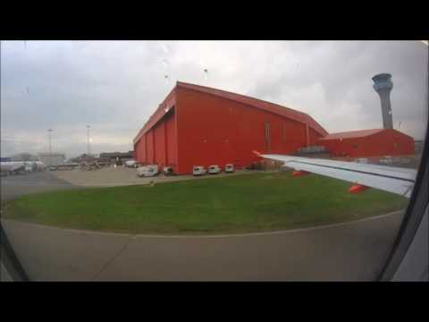 easyJet A319 London Luton to Reykjavik/Keflavik full flight