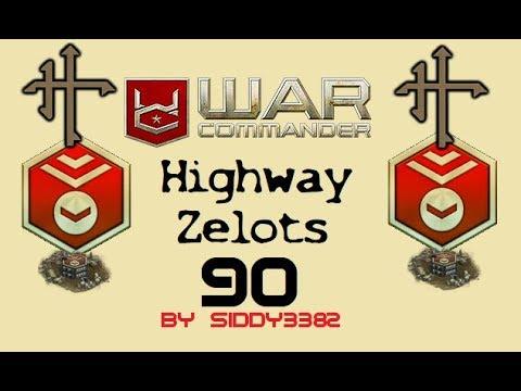 War Commander - Highway Zealots (90) New To The Map Today 31,05,18