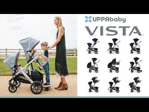 UPPAbaby Vista Pushchair & Carrycot Store Demo - Direct2Mum
