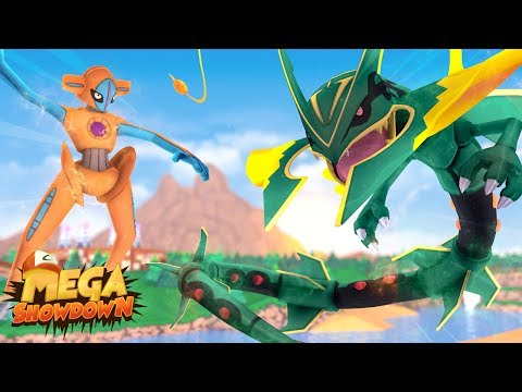 Minecraft: DEOXYS vs MEGA RAYQUAZA - PIXELMON MEGA SHOWDOWN #06