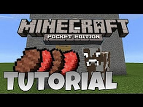 Minecraft Pe:How to make Meat Factory (Fast & easy