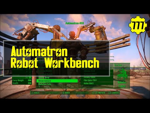 Fallout 4: Overview - Automatron Robot Workbench