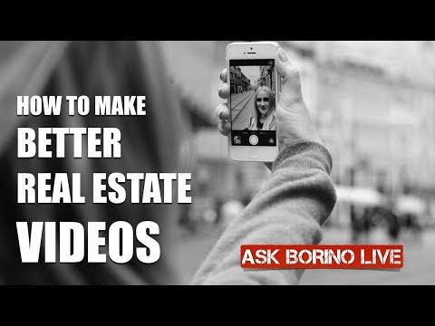 Borino's Real Estate Marketing Tip: Making Better Videos -  Pt 5