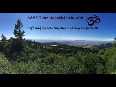 ASMR Guided 10 minute Healing Meditation Gentle Whisper to Sleep