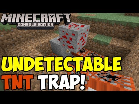 Minecraft: Undetectable TNT Trap! | Tutorial [Xbox & PS3]