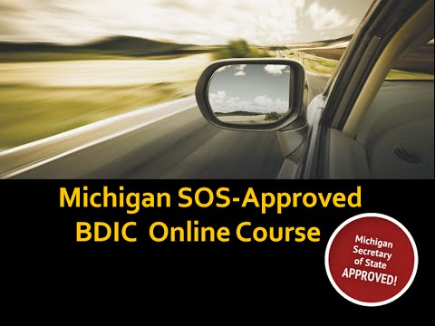 ★ Discover how Michigan SOS Approved BDIC Online keeps you away from violations and traffic points
