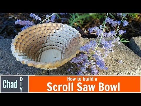 Build a DIY Scroll Saw Bowl