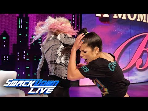"Xxx Mp4 Alexa Bliss Slaps Bayley On ""A Moment Of Bliss"" SmackDown LIVE June 18 2019 3gp Sex"