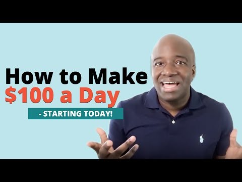 How to Make a 100 Dollars a Day Online Free Starting Today