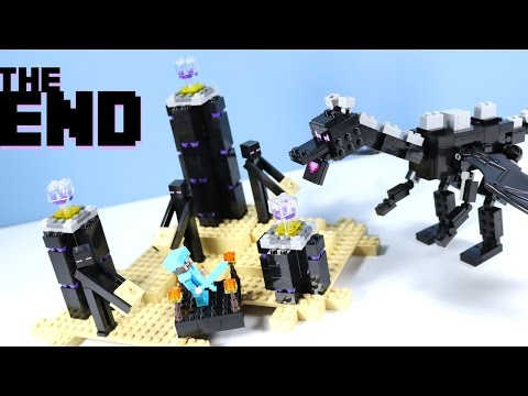 LEGO Minecraft The Ender Dragon 21117 with Enderman!