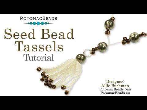 Seed Beading 934   Seed Bead Tassels