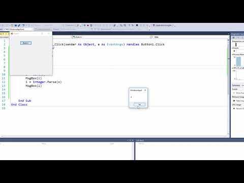 Visual Basic Programming - Converting Between Data Types