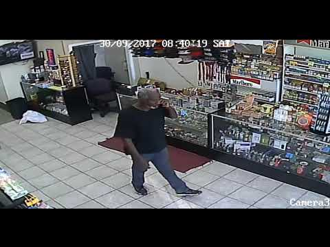 Help Armed Robber September 2017 Tobacco shop on Channel 2 and Univision Houston