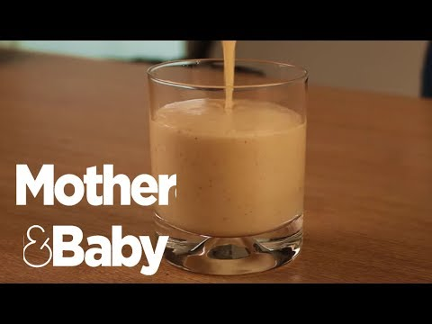 Pregnancy smoothies - How to help morning sickness