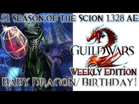 Guild Wars 2 Weekly Edition August 19-Baby Dragon Birthday!