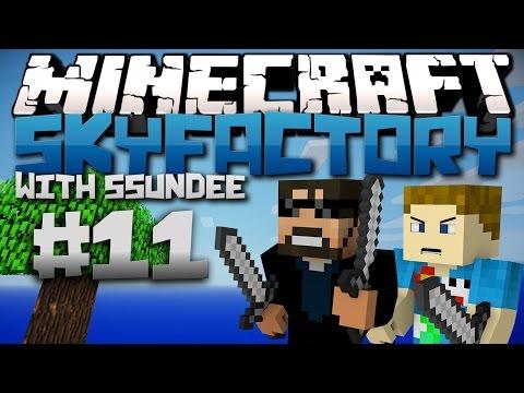 Minecraft   SkyFactory (Modded SkyBlock) - Ep: 11