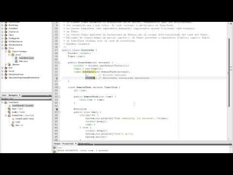 Java - 54 - Countdown (Timer e TimerTask)