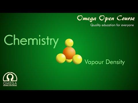 Chemistry - Mole Concept : vapour density