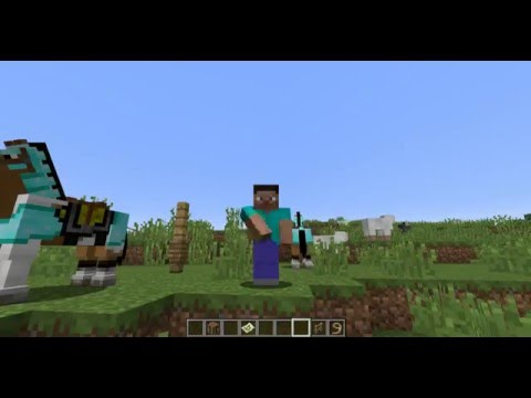 How to Find and Tame Horses in Minecraft 1.9!