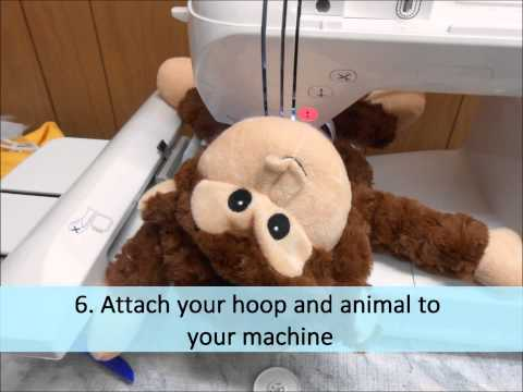 How To Embroider EB Bears and Cubbies With Your Embroidery Machine