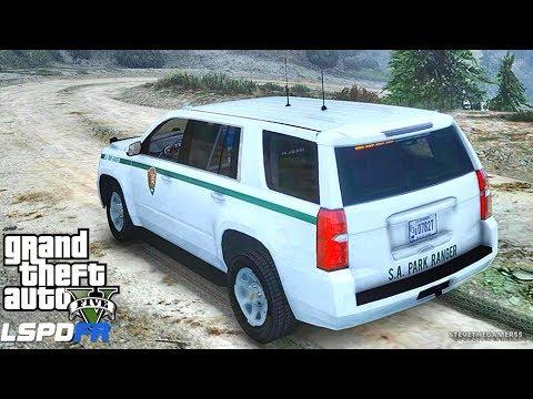 GTA 5 LSPDFR 0.3.1 - EPiSODE 631 - LET'S BE COPS - PARK RANGER PATROL (GTA 5 PC POLICE MODS)